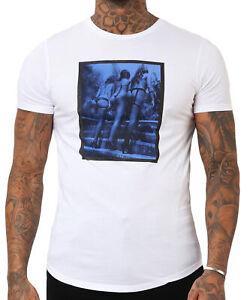 RELIGION Clothing Herren T-Shirt Shirt Bikini Girl 19BBIF30 Weiß NEU
