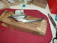 NOS MOPAR 1957-8 PLYMOUTH LEFT REAR DOOR HANDLE