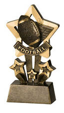 Football Star Resin Trophy Free Engraving