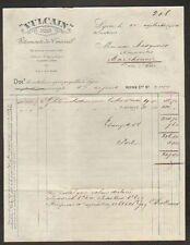 """LYON (69) USINE de VETEMENTS de TRAVAIL """"VULCAIN"""" en 1923"""