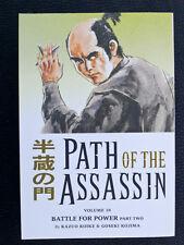 KOIKE & KOJIMA Path of the assassin 10 Dark Horse Manga