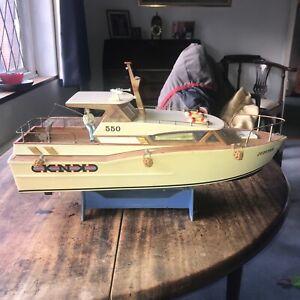 "Vintage KNK Rc Boat ""Jupiter"" a P550"
