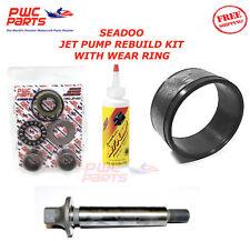 SEADOO Jet Pump Rebuild Kit Wear Ring Impeller Shaft Oil 2003-2005 GTI LE RFI