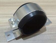 Fuel pump bracket single mount suits 60mm bosch 044 pumps billet alloy SILVER
