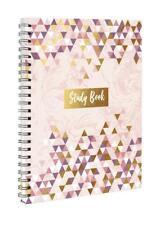 A5 Study Book With Dividers Lined Notebook Undated Journal Spiral Bound