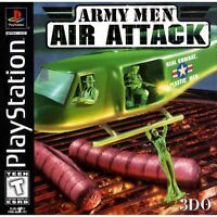 Army Men: Air Attack - PlayStation 1 (PS1) Game *CLEAN VG