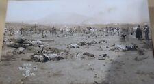 Walter H. Horne CollectionOf Mexican Revolution War Live Photo Postcards