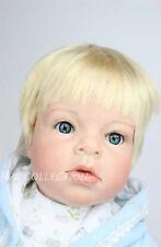 28'' Lifelike Reborn Toddler Boy Baby Doll  soft Silicone Vinyl newborn baby toy