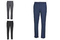 Greg Norman Men's Travel Pant Blue Black Tan Gray Waist Size 30-42 in