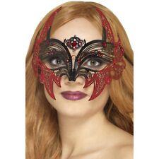 métal filifree DEVIL Masque pour les yeux FEMMES HALLOWEEN MASQUE VISAGE