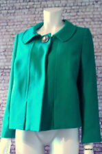 vintage look jackie O jacket emerald green M&S New 16