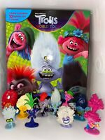 DREAMWORKS TROLLS WORLD TOUR BUSY BOOK - 10 FIGURES AND A PLAYMAT UK STOCK