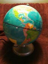 LIGHTED ILLUMINATED WORLD GLOBE -- FOUR (4) COLORS
