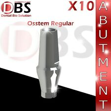X10 Dental Straight Abutment 3mm Osstem® Regular Platform + Screw For Implant