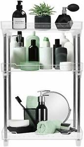 3-Tier Shelf Organizer for Countertop - Kitchen, Bathroom Organizer & Storage