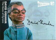 Thunderbirds 50 Years Auto Card DG4 David Graham Voice of Kyrano