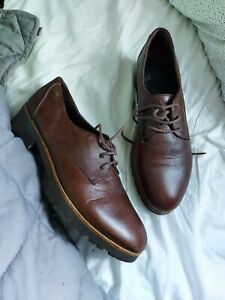 Red or dead Oxfords / Brogues Shoes Brown Size 6