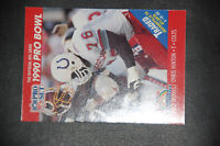 "1990 Pro Set #343 Chris Hinton Variation ""Traded/ Has been named""  RARE ERROR"
