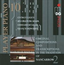 ORIGINAL COMPOSITIONS AND TRANSCRIPTIONS IN THE TRADITION OF NANCARROW 2 NEW CD