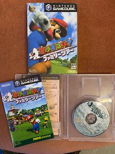 Mario Golf Family Tour Nintendo Gamecube Japanese NTSC-J Free Fast Post.
