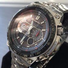 Reloj para Hombres Casio Edifice ECW-M300E Cronógrafo Acero Solar Hora Mundial Original