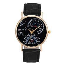 2017 Sale Men's Leather Band Analog Quartz Vintage Simple Business Wrist Watches