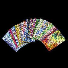 DIY Nail Art Water Transfer Stickers Decal Rainbow Foil Galaxy Gel Polish Tips