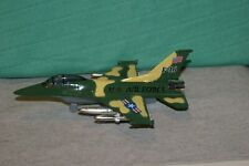 US Air Force F-16 Falcon Fighter Jet Aircraft Diecast Metal