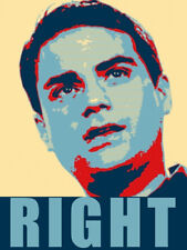 3x5 inch Ben Shapiro Obamanized RIGHT Sticker - vote pro president conservative