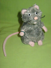 "Gund HARRY POTTER Character SCABBERS Small 5"" Gray Rat Rodent PLUSH Toy"