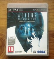 Aliens: Colonial Marines: Limited Edition (PS3). Free UK Postage