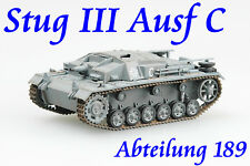 Easy Model 1/72 Germany Stug III Ausf C Abteilung 189 Russian 1941 #36138
