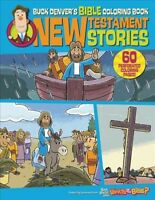 Buck Denver's Bible Coloring Book : New Testament Stories, Paperback by Jelly...