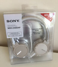 Sony MDRZX660AP On-Ear Headphones - White