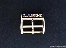 A. Lange & Sohne 18k Rose Gold Tang Buckle for 16mm Strap