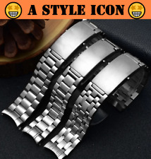 BOND 20mm 22mm Stainless Steel Watch Band Bracelet For Omega Seamaster 300 (New)