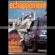 ECHAPPEMENT N°139 OPEL ASCONA KADETT GTE MAZDA 323 SPORTY FRANCIS VINCENT 1980