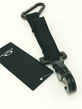 NEW OAKLEY LARGE KEY RING Strong CARABINER AUTHENTIC Blackout 99503-02E