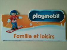 PLAYMOBIL - Family Fun Enfant Snowboard -