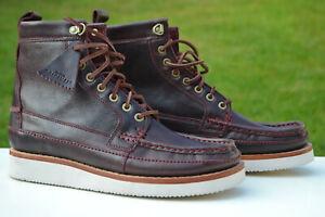 Clarks Originals Mens Boots WALLACE HIKE Bordeaux Leather UK 10.5 / 45