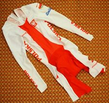 Poland Women's Cycling long sleeve Skinsuit by dmtex, Rio Olympic Games, Medium