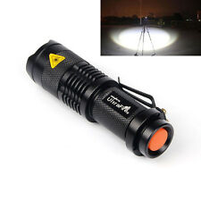 LED Flashlight 1200LM Tactical Torch Ultrafire 3 Mode XML-T6 Light 18650 battery