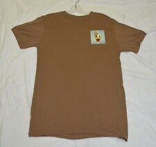 Used Canadian army brown t-shirt size medium with Donald ( box#69 )