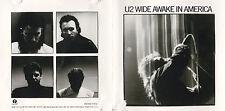 CD 4T U2 WIDE AWAKE IN AMERICA 1985 PRESSAGE USA