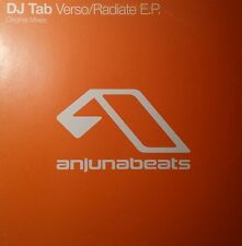 "DJ Tab  ""Verso / Radiate E:P:"" * ANJ027 / Original  Mixes"