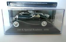 DIE CAST 540 K SPECIAL ROADSTER 1936 - MERCEDES COLLECTION SCALA 1/43 #20
