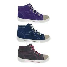 Medium Freizeiten Turnschuhe/sneakers für Mädchen aus Leder mit Schnürsenkel