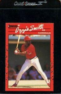 1990 DONRUSS #201 OZZIE SMITH HOF ST LOUIS CARDINALS