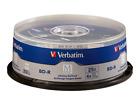 VERBATIM M Disc 25GB BD-R 4X Branded Logo 25 pk Spindle 98909