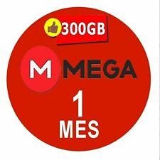 Cuentas Premium Mega 30 Dias  Oficial 700GB Mensual